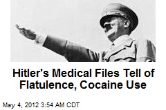 'Cokehead' Hitler's Medical Files Up for Auction