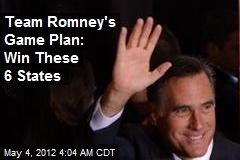 Romney Campaign Spies Narrow Path to Victory