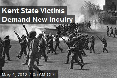 Kent State Victims Demand New Inquiry