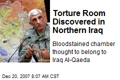 Torture Room Discovered in Northern Iraq