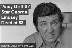 'Andy Griffith' Star George Lindsey Dead at 83