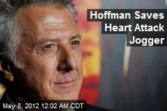 Hoffman Saves Heart Attack Jogger