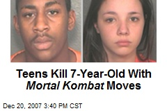 Teens Kill 7-Year-Old With Mortal Kombat Moves