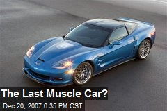 The Last Muscle Car?