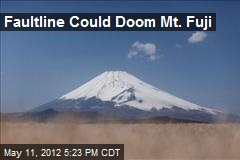 Faultline Could Doom Mt. Fuji
