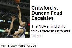 Crawford v. Duncan Feud Escalates