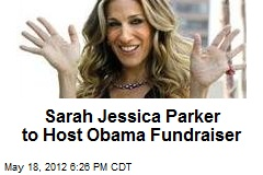 Sarah Jessica Parker to Host Obama Fundraiser