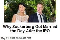 Why Zuckerberg Got Married the Day After the IPO