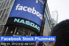 Facebook Stock Plummets