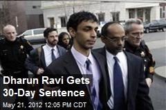 Dharun Ravi Gets 30-Day Sentence