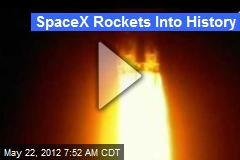 SpaceX Rockets Into History