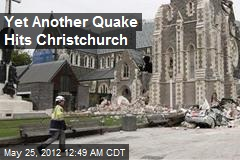 5.2 Quake Hits Christchurch, No Injuries Reported