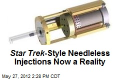 Star Trek -Style Needleless Injections Now a Reality