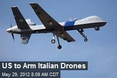 US to Arm Italian Drones