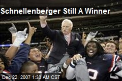 Schnellenberger Still A Winner