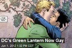 DC's Green Lantern Now Gay