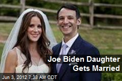 Joe Biden Daughter Gets Married