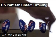 US Partisan Chasm Growing