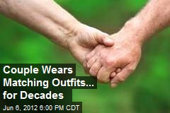 Couple Wears Matching Outfits... for Decades