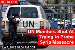 Syria Blocks UN Monitors From Massacre Scene