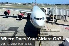Where Does Your Airfare Go?