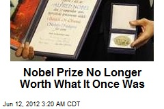 Nobel Foundation Slashing Prize Money
