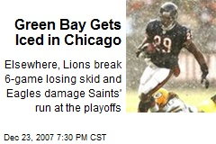 Green Bay Gets Iced in Chicago