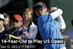 14-Year-Old to Play US Open