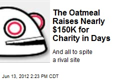 The Oatmeal Raises Nearly $150K for Charity in Days