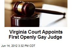 Virginia Court Appoints First Openly Gay Judge