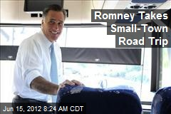 Romney Takes Small-Town Road Trip