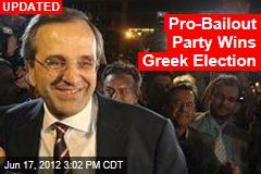 Exit Polls: Greek Vote in Dead Heat