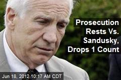 Prosecutors Drop 1 Count Vs. Sandusky