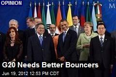 G20 Needs Better Bouncers