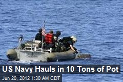 US Navy Hauls in 10 Tons of Pot