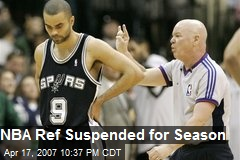 NBA Ref Suspended for Season