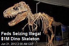 Feds Seizing Illegal $1M Dino Skeleton