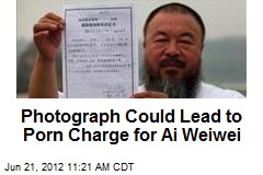 Photograph Could Lead to Porn Charge for Ai Weiwei