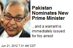 Pakistan Nominates New Prime Minister