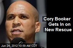 Cory Booker Gets In on New Rescue