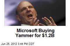 Microsoft Buying Yammer for $1.2B