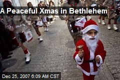 A Peaceful Xmas in Bethlehem