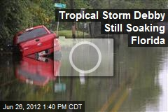 Tropical Storm Debby Still Soaking Florida