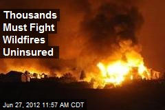 15K Federal Firefighters Not Offered Insurance