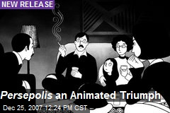Persepolis an Animated Triumph