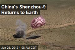 China's Shenzhou-9 Returns to Earth
