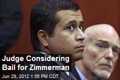 Judge Considering Bail for Zimmerman