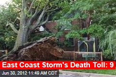 East Coast Storm's Death Toll: 9
