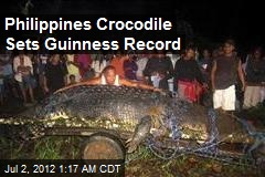 What a Croc! Philippines Has Biggest in Captivity