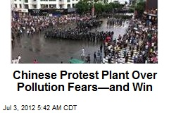 Angry Chinese Protesters Halt Copper Plant Project